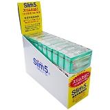 シーエス工業 ニュークロレラパイプ スリム5 スリムサイズ煙草用 5本入×10個