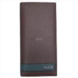BALLY バリー LALTYL.L ファスナー小銭入れ付 長財布 メルロット 6208035