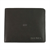 DIESEL ディーゼル ブラウン 二つ折り財布 JEM-J HIRESH S X03925 T2189