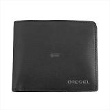 DIESEL ディーゼル ブラック 二つ折り財布 JEM-J HIRESH S X03925 PR271 T8013