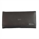 DIESEL ディーゼル ブラウン 二つ折り財布 JEM-J 24 A DAY  X03928 PR271 T2189