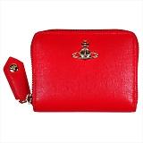 Vivienne Westwood ヴィヴィアンウエストウッド SAFFIANO 小銭入れ コインケース 財布 51080001 RED 18SS RED