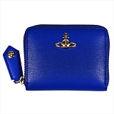 Vivienne Westwood ヴィヴィアンウエストウッド SAFFIANO 小銭入れ コインケース 財布 51080001 BLUE 18SS BLUE