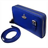 Vivienne Westwood ヴィヴィアンウエストウッド SAFFIANO 財布ポシェット 51050026 BLUE 18SS BLUE