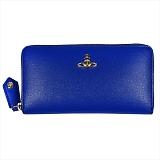 Vivienne Westwood ヴィヴィアンウエストウッド SAFFIANO 長財布 51050023 BLUE 18SS BLUE