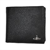 Vivienne Westwood ヴィヴィアンウエストウッド KENT 二つ折り財布 51010016 BLACK 18SS BLACK