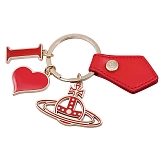 Vivienne Westwood ヴィヴィアンウエストウッド キーリング I LOVE ORB GADGET 82030009 RED